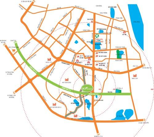 Vị-trí-Sky-Central-176-Định-Công