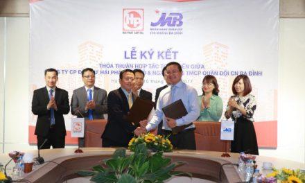 Hải Phát Thủ Đô ký thỏa thuận hợp tác toàn diện với ngân hàng MB